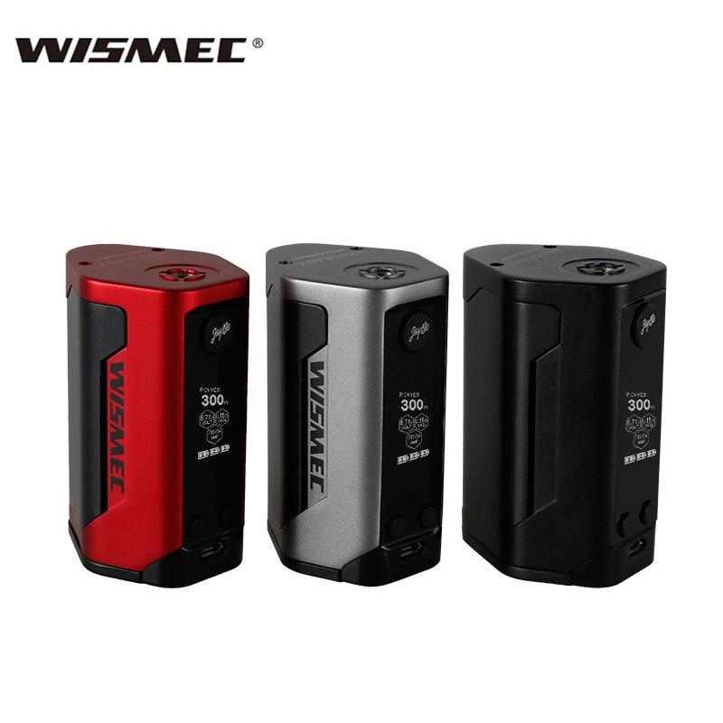 En STOCK Original Wismec Reuleaux RX GEN3 boîte Mod 300 W Vape avec vaporisateur d'écran de 1.3 pouces alimenté par Triple 18650 batterie Mod