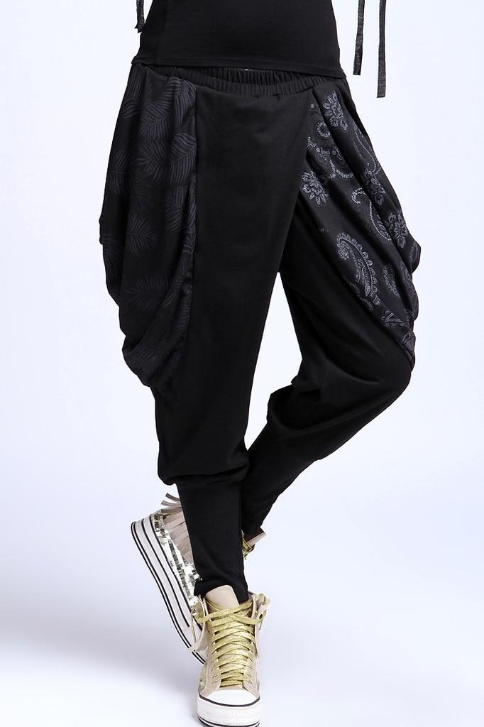 pantalon femme broek vrouwen sweatpants hip hop vintage harajuku baggy palazzo capri casual. Black Bedroom Furniture Sets. Home Design Ideas