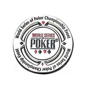 Jetons de Poker Étoiles Dealer En Alliage de Zinc