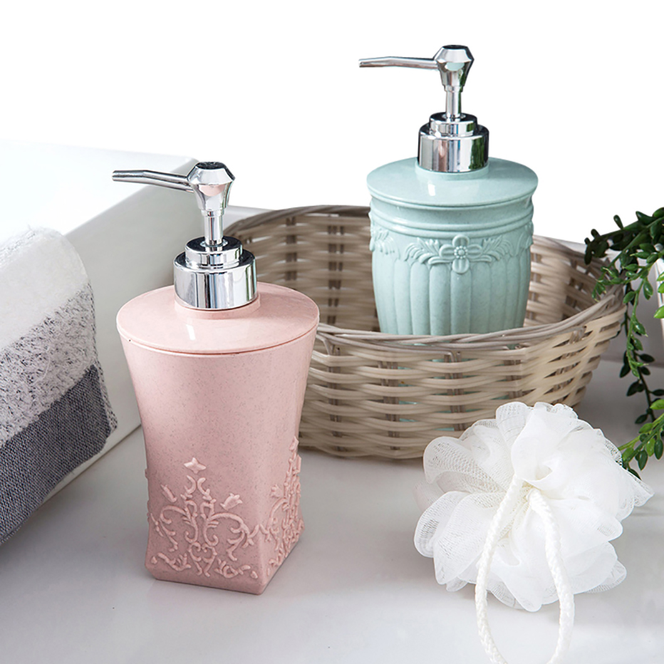 400ml Pressing Liquid Soap Dispensers Bottle Hand Sanitizer Storage Bottle Bathroom Shampoo Shower Gel Container Accessories