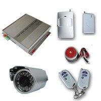 MMS Quad GSM Беспроводная охранная сигнализация SMS ПИР камера DVR SD карта GSM сигнализация