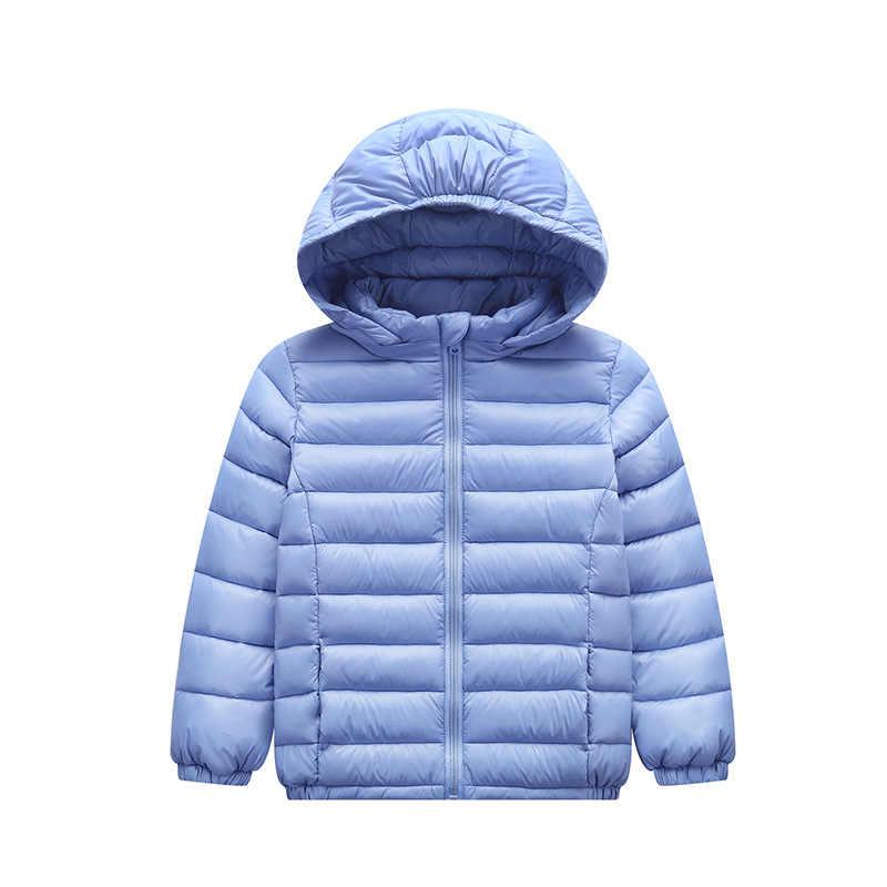 2018 Modetrends Nieuwe Producten Herfst en Winter kinderen Casual Cap Donsjack Kinderkleding Katoenen Jas Kinderen
