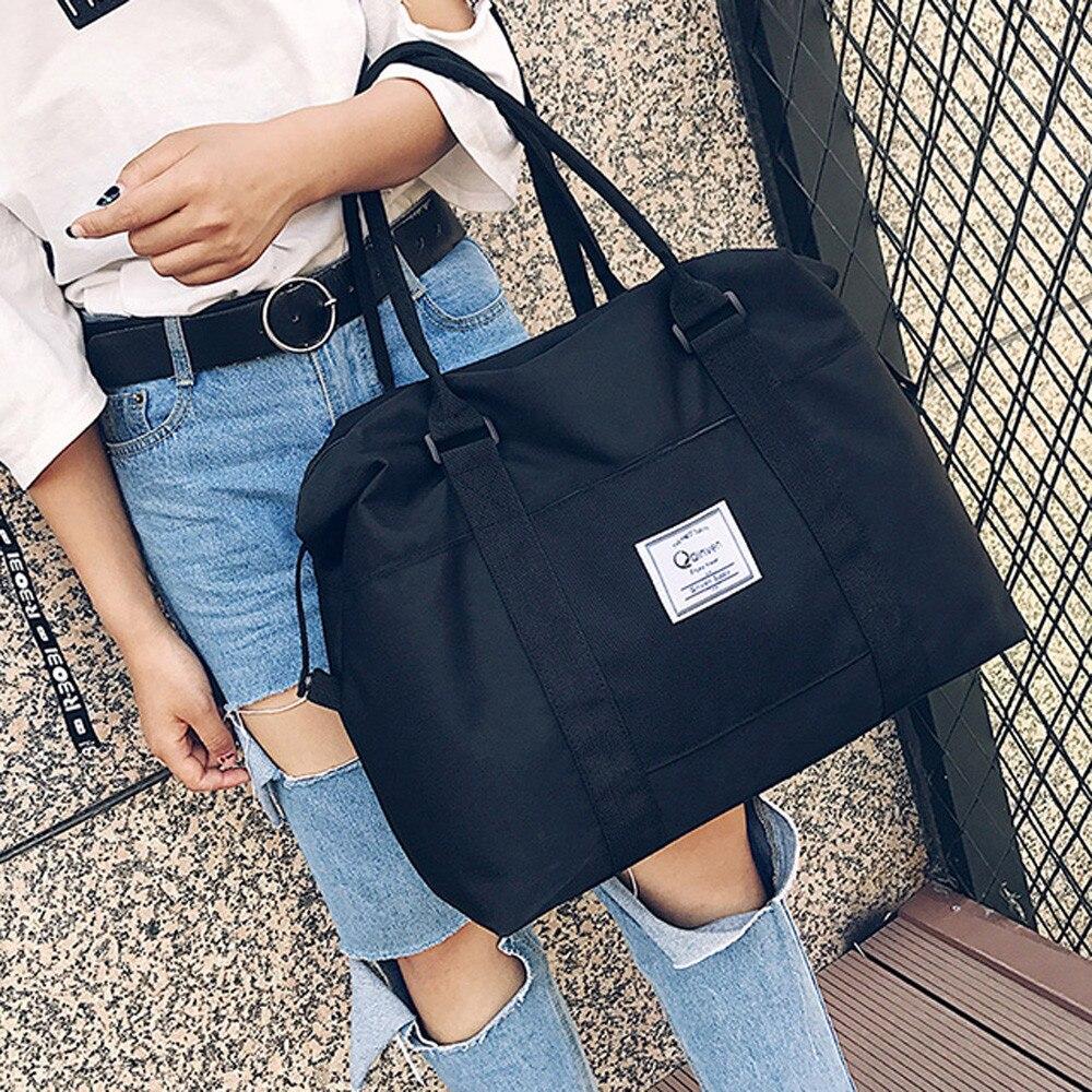 2018 Frauen Schulter Taschen Oxford Casual Travel Tote Tasche Große Größe Frauen Handtaschen Solide Satchel Frauen Taschen Bolsa Feminina