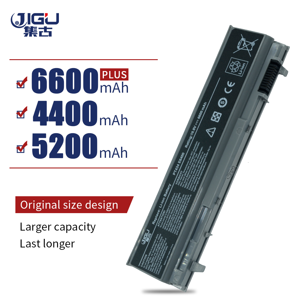 JIGU Laptop Battery For Dell Latitude E6400 E6410 E6500 E6510 M2400 M4400 M4500 312-0748 312-0754 312-0917 451-11399 451-10583 image