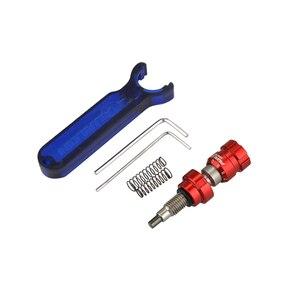Image 3 - 1 pièce de tir à larc coussin plongeur vis dans arc Riser flèche repos pression bouton clic Action arc classique chasse accessoires de tir