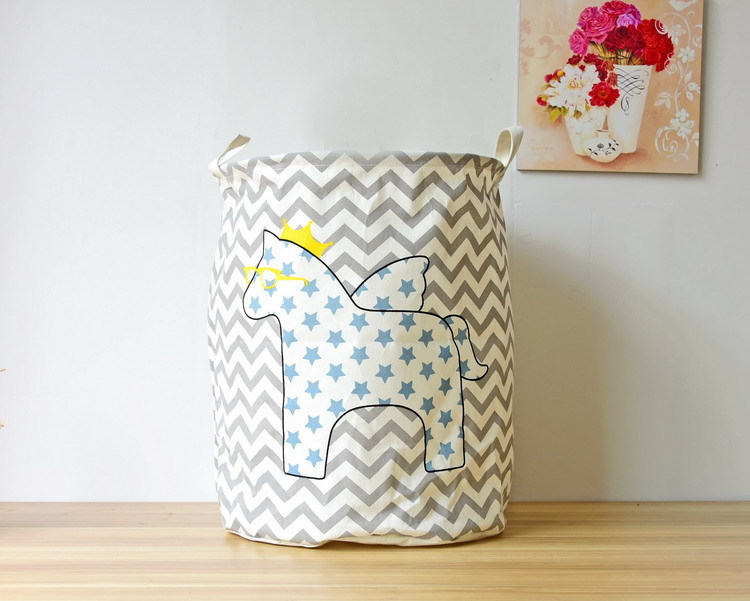 Free shipping Laundry Basket Storage 40*50cm Large Basket For Toy Washing Basket Dirty Clothes Sundries Storage Baskets Box 5
