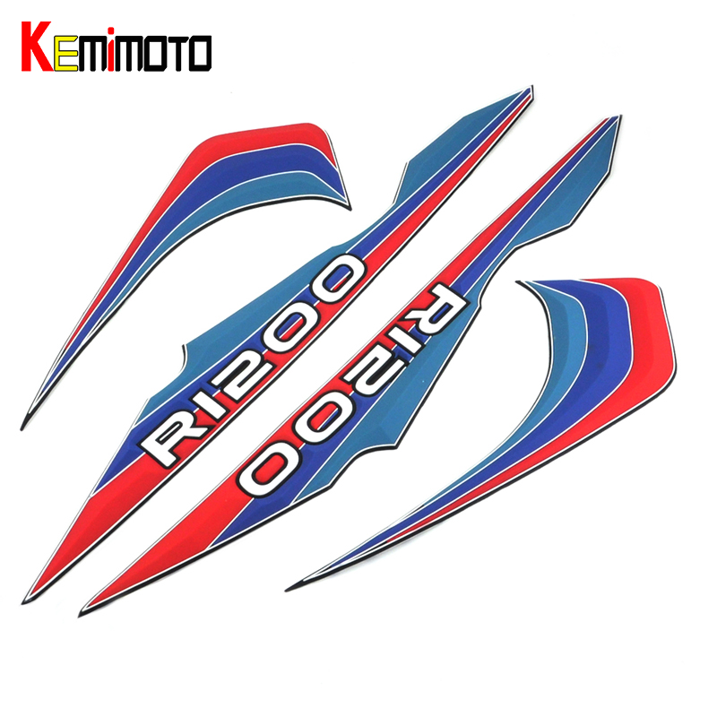 KEMiMOTO For BMW Stickers Motorcycle Whole Vehicle Decals Stickers For BMW R 1200 GS ADV Motorcycle Accessories for bmw r1200gs adv f800gs adv f700gs new motorcycle adjustable handlebar riser bar clamp extend adapter