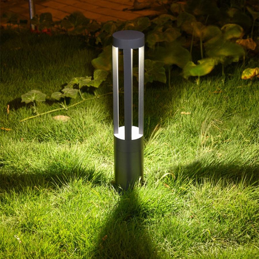 Thrisdar 40/60 см пейзаж садовая Колонка газон уличный светильник Водонепроницаемый Рождество вилла дорожный путь уличный тумбы лампа