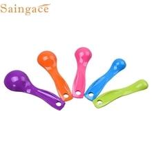 5 шт. красочные Ложки мерные комплект Кухня инструмент Посуда крем