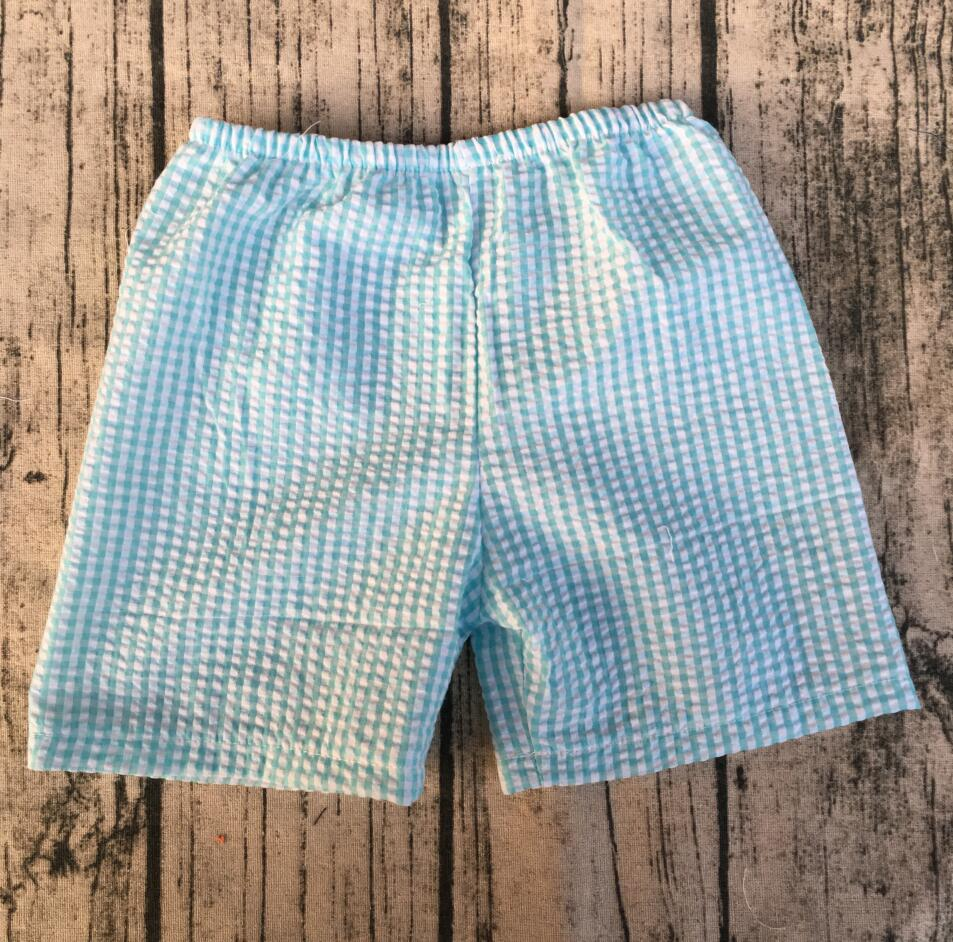 6beef193b66 Оптовая продажа  детская одежда Дешевая одежда интернет Эксклюзивная одежда  для детей Мальчики Seersucker Шорты купить на AliExpress