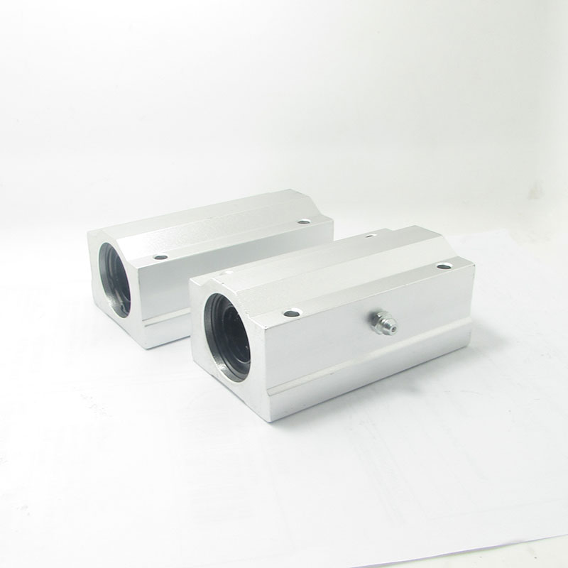 цена на Hot sale 1pc SC8LUU SCS8LUU 8mm long type Linear Ball Bearing Block CNC Router