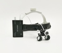 Head wear enlarge easy wearing surgery operation surgical Magnifier Dental Loupe with LED light