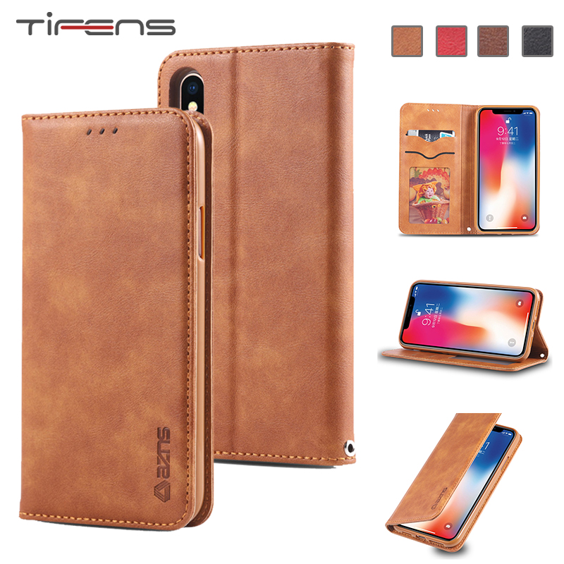 PU <font><b>Leather</b></font> <font><b>Case</b></font> For <font><b>iPhone</b></font> 11 Pro X XR XS Max 8plus Flip Wallet Magnetic Card Holder Phone Cover For <font><b>iPhone</b></font> 6 6s 7 <font><b>8</b></font> <font><b>Plus</b></font> Coque image