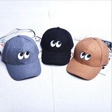 2016 Korea Retro Cartoon Embroidery Baseball Caps Golf Cap SNAPBACK Couple Of Men And Women Bent-brimmed hat Skateboard