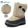 MMNUN Russa Famosa Marca de Lã Sapatos de Inverno Meninos das Crianças Quentes Sapatos de Inverno Botas De Feltro para Criança Crianças Crianças Sapatos Coogee