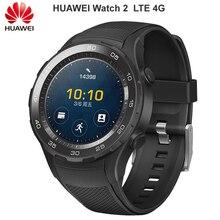 Original Huawei Uhr 2 Smart uhr Bluetooth eSIM Anruf Herz Rate Tracker Für Android iOS IP68 wasserdicht NFC GPS