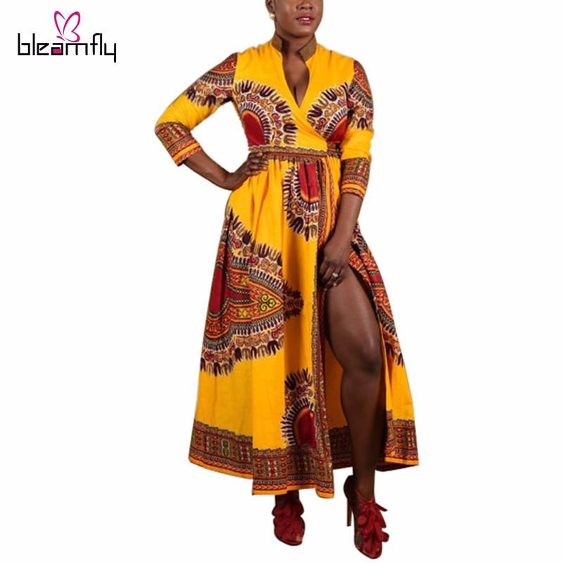 6d3510659c Para mujer Túnicas ropa africana africaines Nueva Africano Dashiki ...