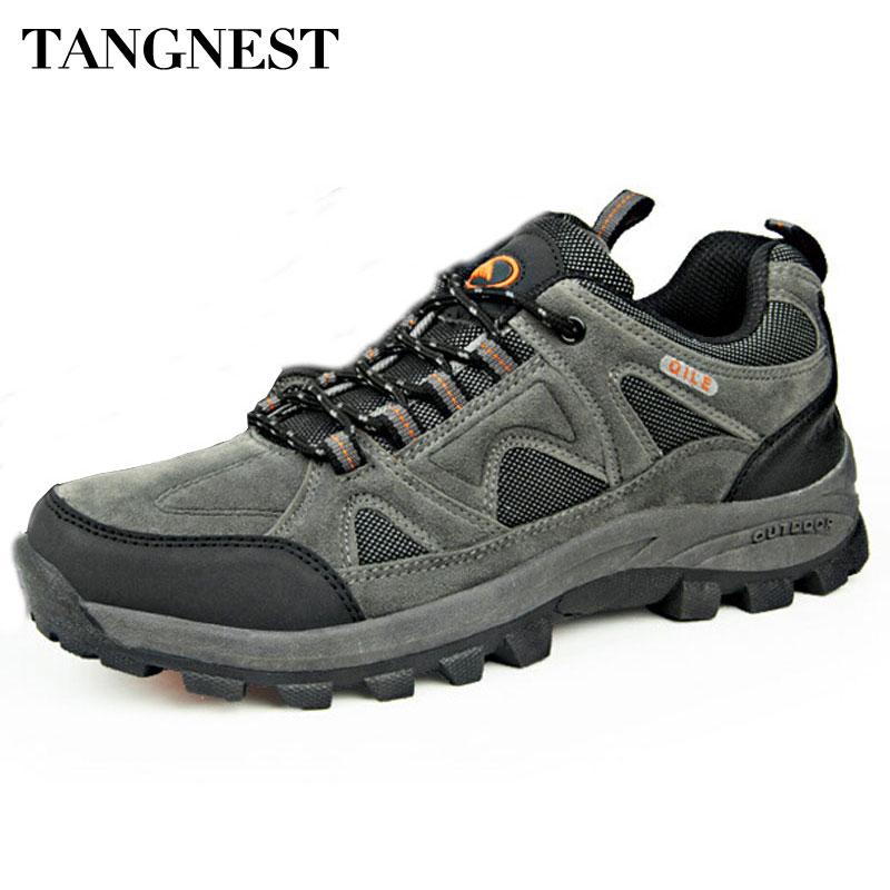 Tangnest Autumn Men Boots 2016 New Breats