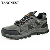 Summer Men Outdoor Shoes 2016 New Breathable Couple Mountain Shoe Casual Solid Outdoor Waterproof Shoes Man