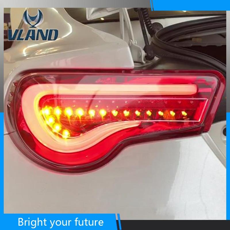 Tail Lamp Rear Lights For Toyota GR86 GT86 Subaru BRZ 2012-2018 Tail Lights Signal Brake Reverse Headlight Bumper Reverse Tail