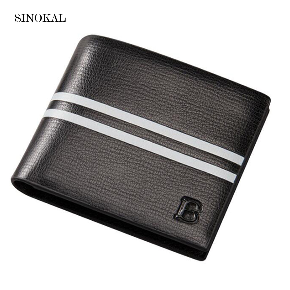 2017 New Brand Baellerry Men PU Leather Wallets Purse Luxury Short small Bag Money Clips Wallet Male Purse For Dollar Price Card baellerry business black purse soft light pu leather wallets large capity man s luxury brand wallet baellerry hot brand sale