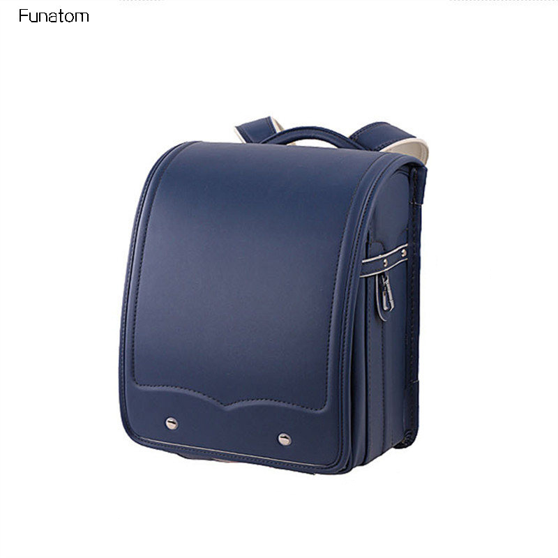 Kid Orthopedic School Bag Children Backpack For Girl And Boys Students Bookbags Japan PU Japanese Randoseru Backpack Hot sa212 saddle bag motorcycle side bag helmet bag free shippingkorea japan e ems