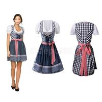 Oktoberfest Party Beer Costume Bavarian German Dress Girls Fancy Dress S