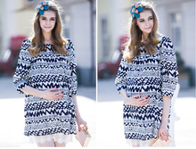 2015 New Summer Plus Size XL Elegant 3D Embroidered Lace Chiffon font b Maternity b font
