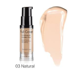 Concealer Makeup Corrector Cream-Face Cosmetic Natural Full-Cover Waterproof 6-Colors
