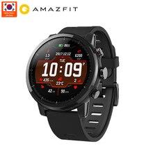 Глобальная версия Xiaomi Huami Amazfit 2 Amazfit Stratos Pace 2 монитор сердечного ритма Смарт-часы с gps 5ATM водонепроницаемый