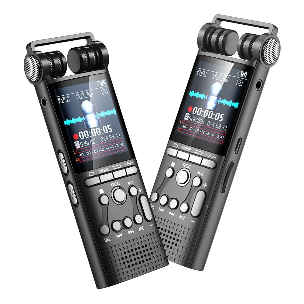 Offen 8 Gb Professionelle Recorder Null Lärm Reduction Voice Aufnahme Hifi Mp3 Hifi Sound Qualität Wiedergabe Dropship 7,30 Tragbares Audio & Video