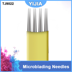 Hot 100pcs 4 2rl permanent makeup eyebrow microblading needles for embroidery machine 3d manual pen tattoo.jpg 250x250