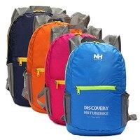 Naturehike 15L 210D Waterproof Nylon Backpack Camping Hiking Rucksack Backpack Folding Travel Shoulder Storage Bag Pack