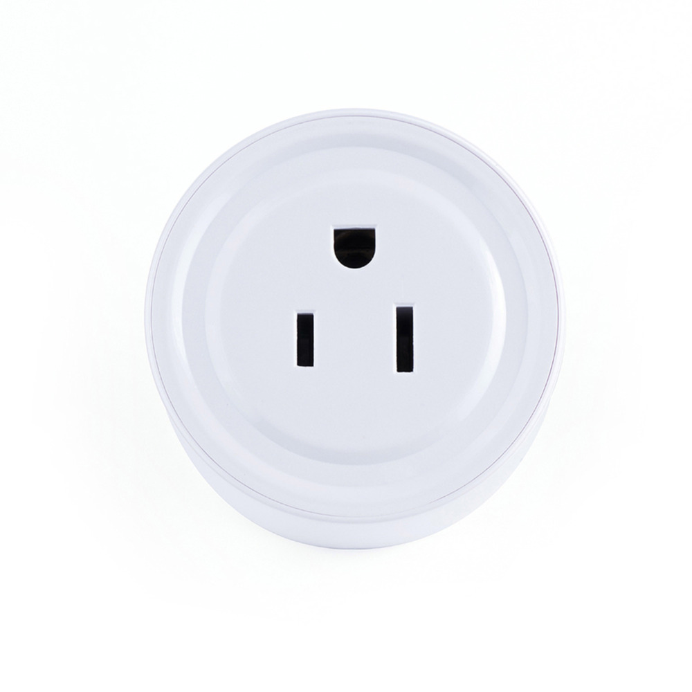 New Remote Wi-Fi Wireless <font><b>Smart</b></font> Socket Outlet No <font><b>Hub</b></font> Required Plug For Alexa and Home & IFTTT image