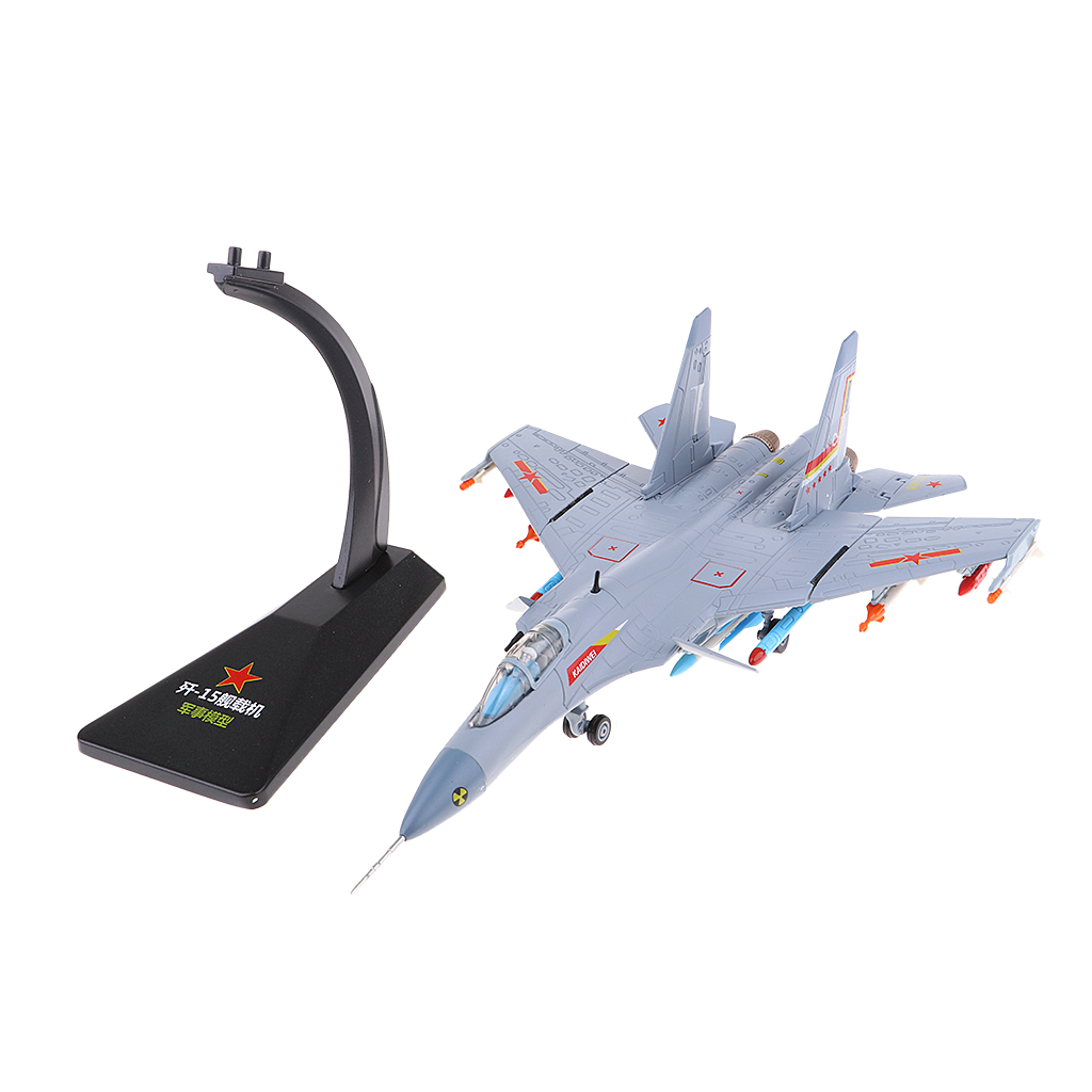 1:72 Scale Alloy Airplane Model J15 Chinese Carrier Aircraft Military Fighter Diecast Plane Model Toys Kids Gift Decoration-in Model Building Kits from Toys & Hobbies    3