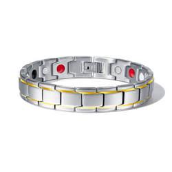 Для Мужчин's Браслеты Abrray Магнитный гематит Медь браслет с застежкой на крючок застежка терапевтические браслеты человек оздоравливающие
