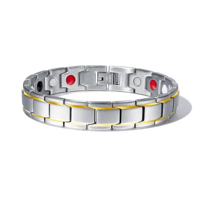 Men's Abrray Magnetic Hematite Copper Bracelet