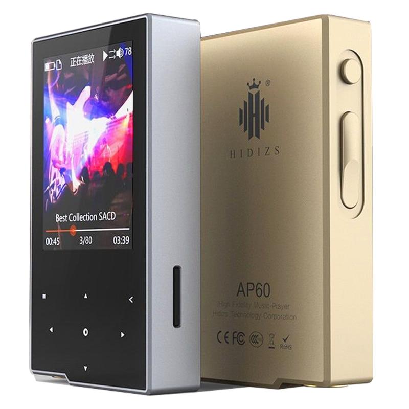 Hidizs AP60 case film free DSD HiFi Lossless Pocket Bluetooth 4 0 Apt x Music Player