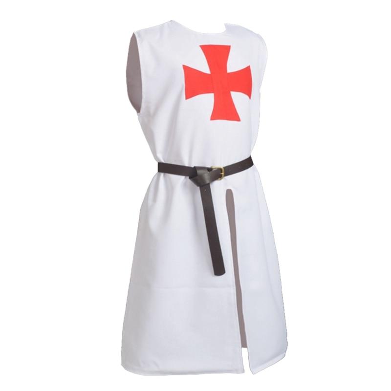 Traje medieval Renacimiento Hospitalario Caballeros Cruzados - Disfraces