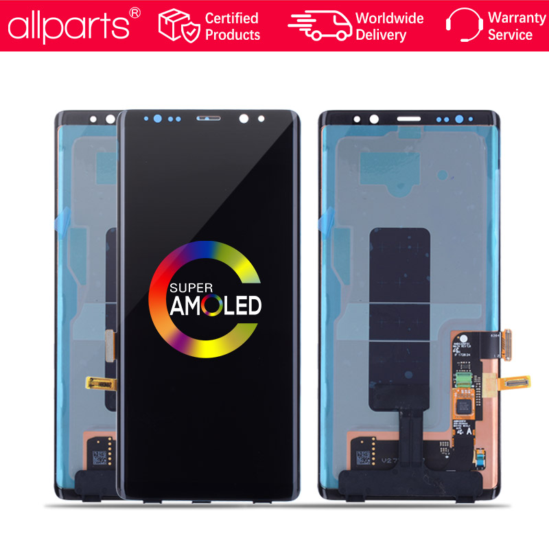 6.3 ''Super AMOLED 2960x1440 Display per Samsung Galaxy Note 8 LCD Touch Screen Note8 N9500 LCD di Ricambio parti