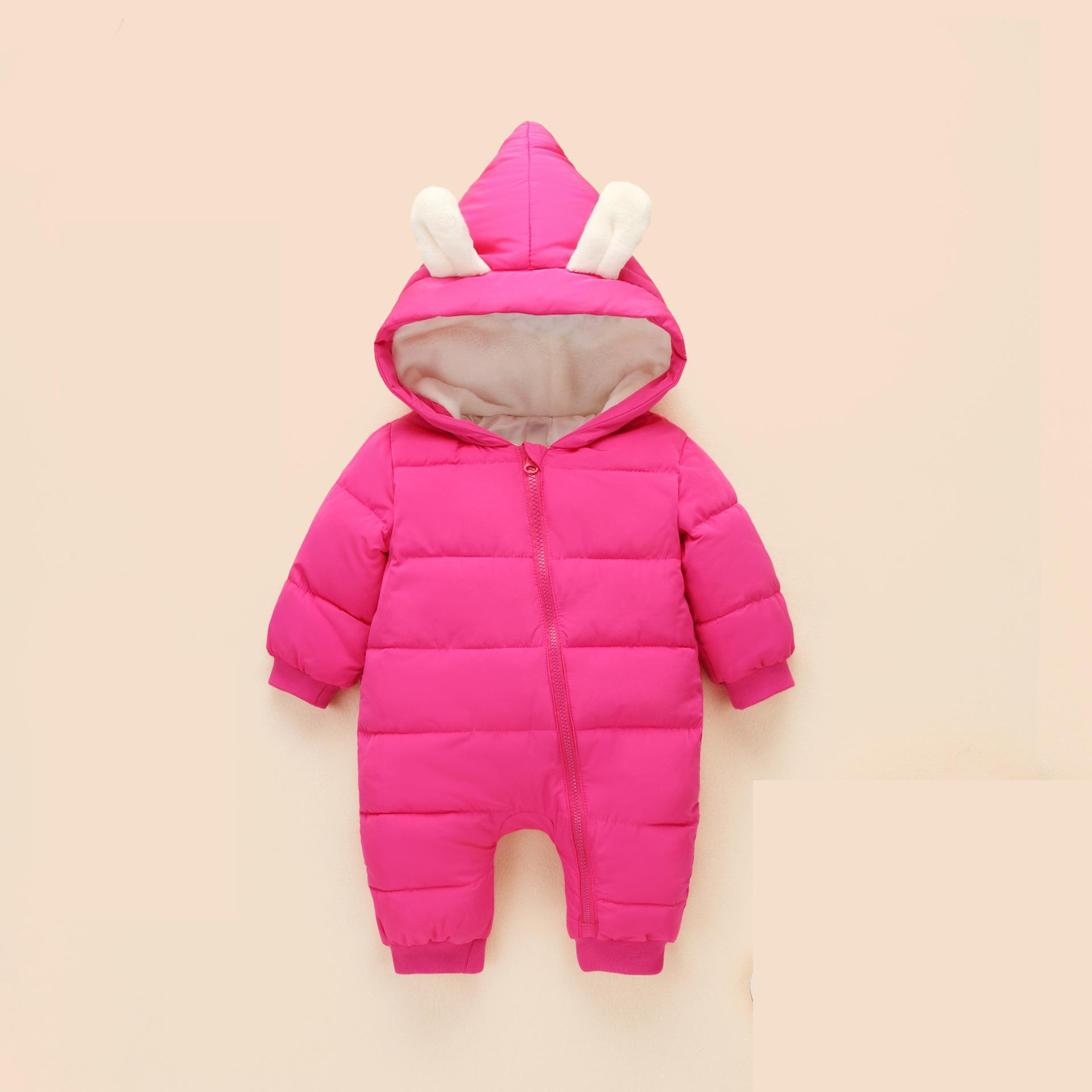 2017 New Infant Clothing Cotton Newborn Baby Boys Girls Winter