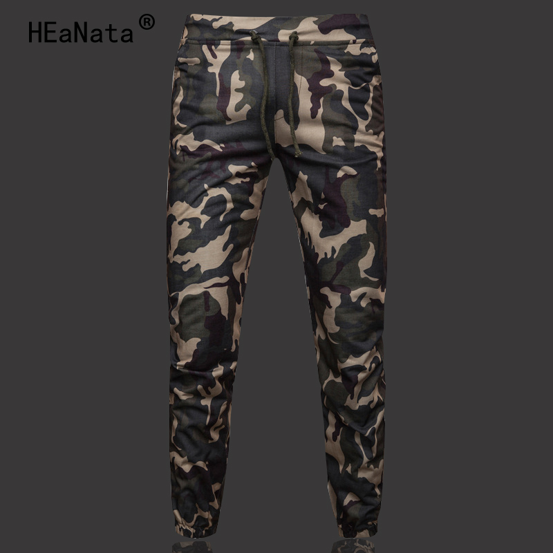 Harem-Pants Jogge Pencil Cargo-Trousers Comfortable Loose Camouflage M-5XL