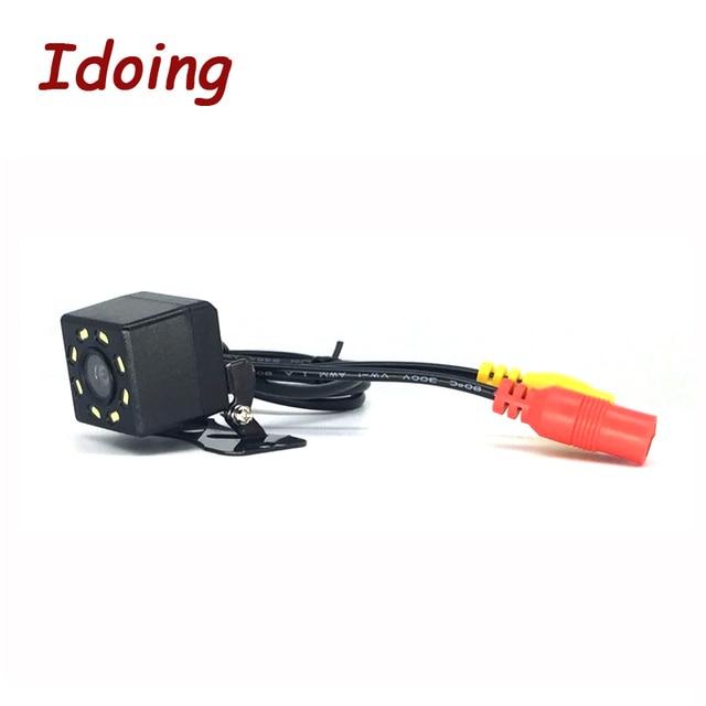 Idoing 8 IR lights HD CCD Car Rear Camera Reversing Car Backup Reverse Camera Rear View Camera for Android 4.4/5.1/6.0/7.1/8.0