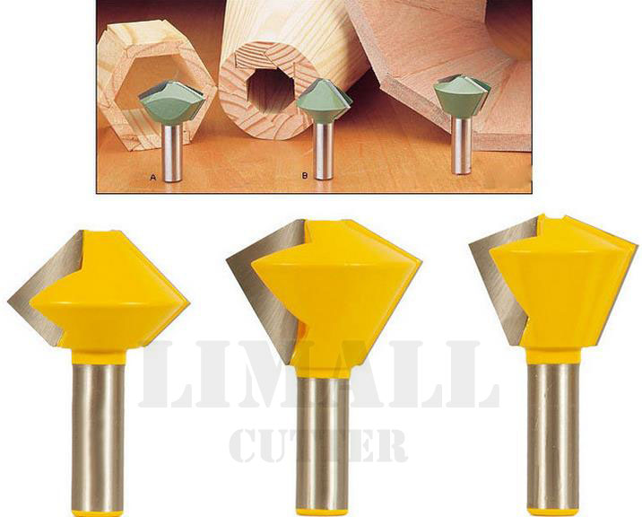 3pcs/ sets multilateral tenon joint knife woodworking milling cutter