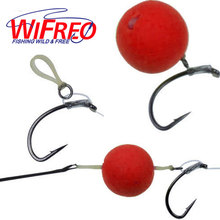 [400PCS/Pack] 2mm 4mm 5mm Carp Fishing Hair Rig Bait Bands for Pellet Bander Red Worm Terminal Tackle