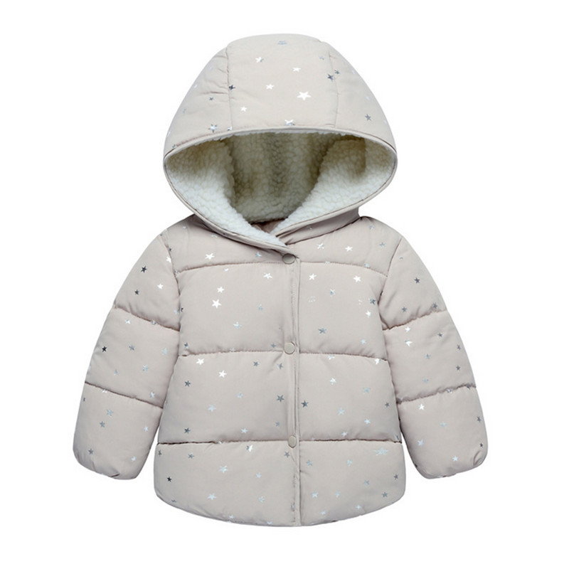Autumn Winter boys warm Jacket For Girls Christmas Coat Baby
