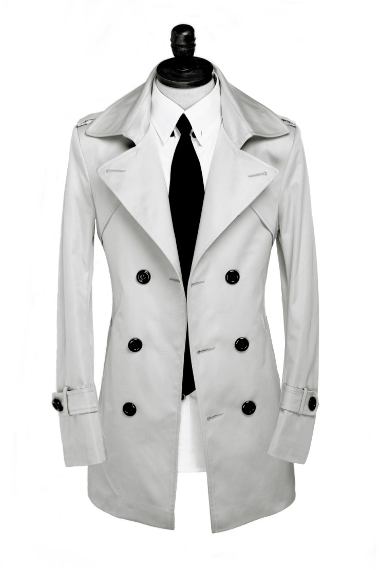 Mens gray pea coat online shopping-the world largest mens gray pea