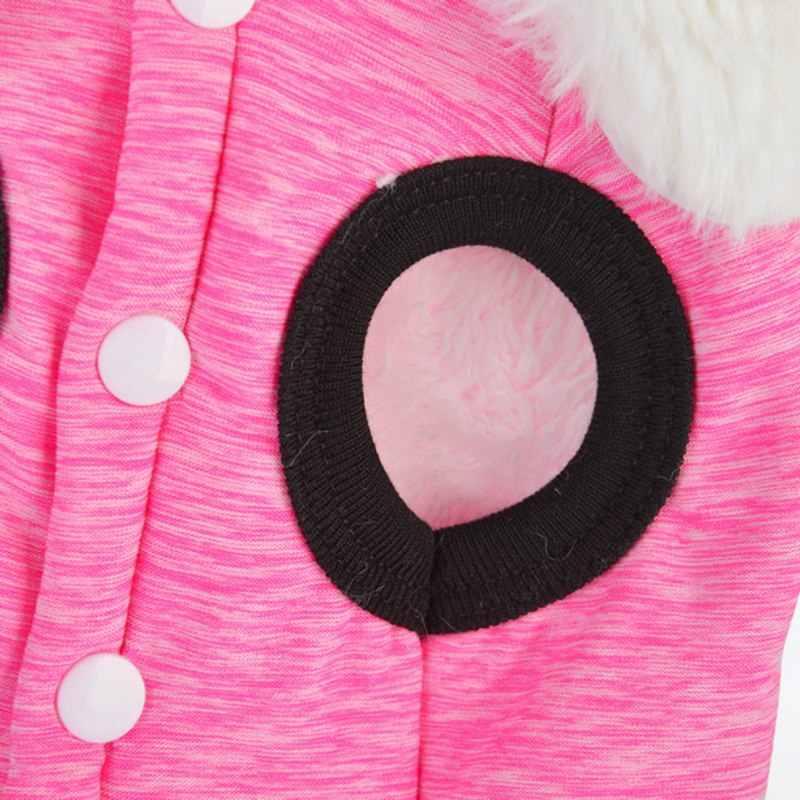 Любимого питомца одежда с принтом в виде собак зимние курткой на подкладке из теплого флиса жилет Велет маленький собачий жилет пальто Костюмы пальто набор для собаки; Домашние животные продукт