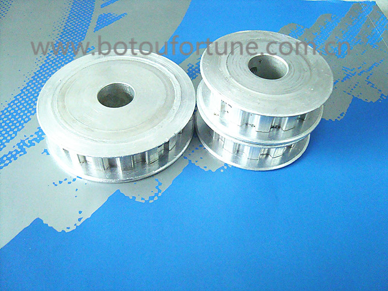 HTD5M Aluminum timing pulley 9 teeth 27 teeth 36 teeth 45 teeth 15 mm belt width and 2000mm length timing round belt on one pack