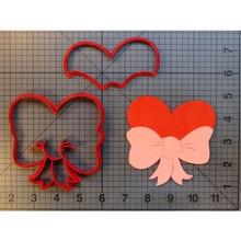 Big Heart Bow Cookie Cutter Fondant Cupcake Molds Custom Made 3D Printed Cake Decorating Tools cortadores de fondant